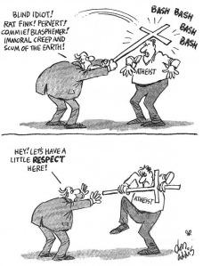 angry atheist