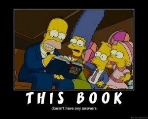 Atheist Cartoon - The Simpsons