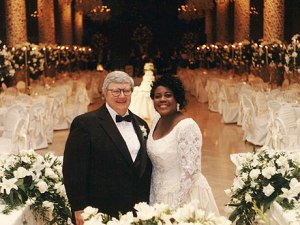 Roger Ebert and his wife Chaz