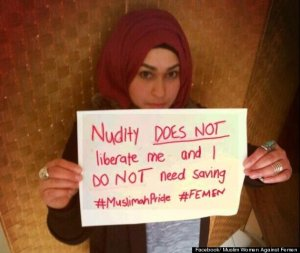 Yes, muslim women have such a great track record of protecting their freedoms and rights. They have the right to  not talk to any men. The right to get beaten by their husbands and any male relative.The right to not go to school and get an education. The right to be obedient and quiet. The right to let their bodies be treated like state property. The right to have no rights at all.