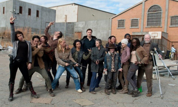 walking dead seson 3 cast