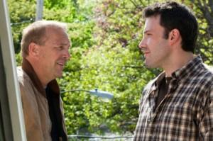 Bobby Walker (Ben Affleck) and blue-collar brother-in-law Jack Dolan (Kevin Costner)