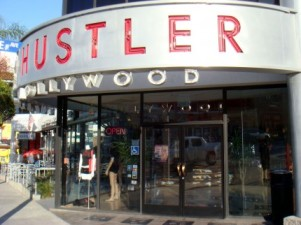 The Hustler store in Hollywood