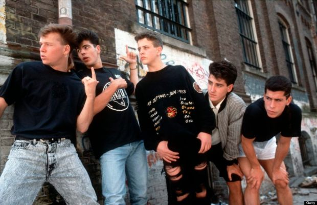 Photo of NEW KIDS ON THE BLOCK and Donnie WAHLBERG and Joey McINTYRE and Danny WOOD and Jonathan KNIGHT and Jordan KNIGHT
