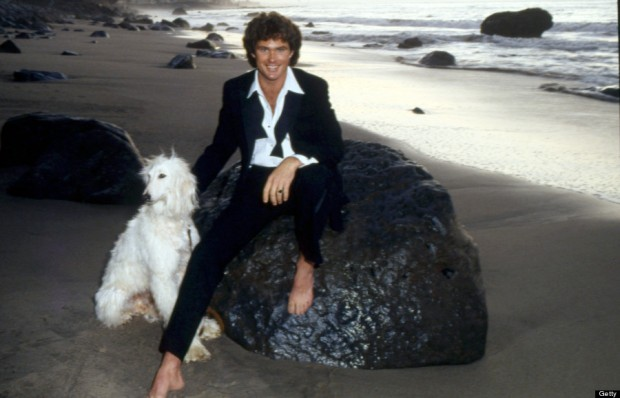 David Hasselhoff Portrait Session On The Beach