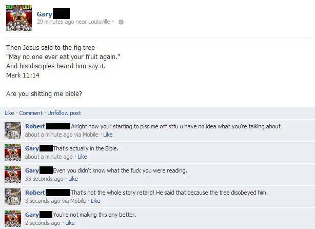 tree disobeyed him
