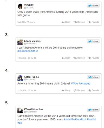 US turning 2014